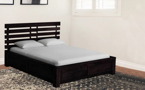 Solid Wood Alice Queen Size Bed