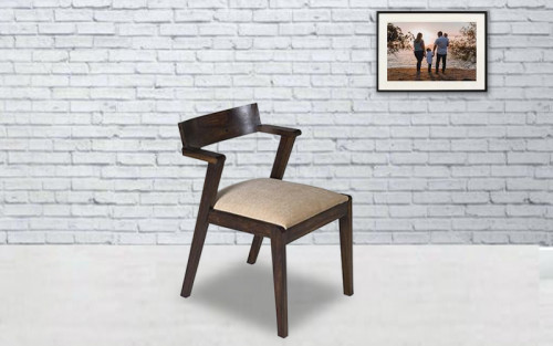 Grafita Solid Wood Dining Chair