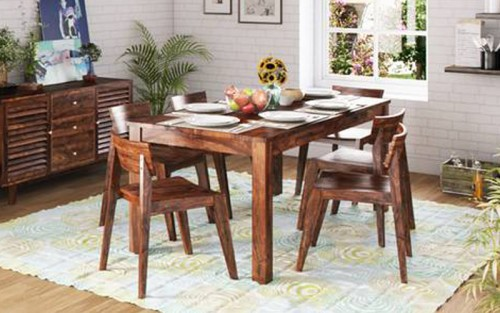 Tastry Sheesham Wood Dining Set 8 Seater