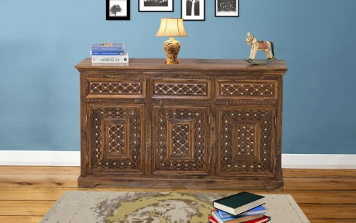 Grabisa Sheesham Wood Side Board
