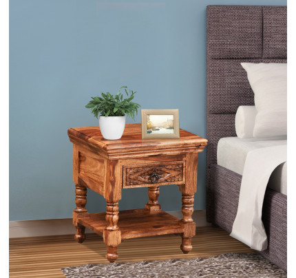 Quenna Bed Side Table