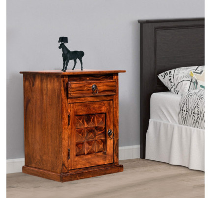 Diamond Bed Side Table