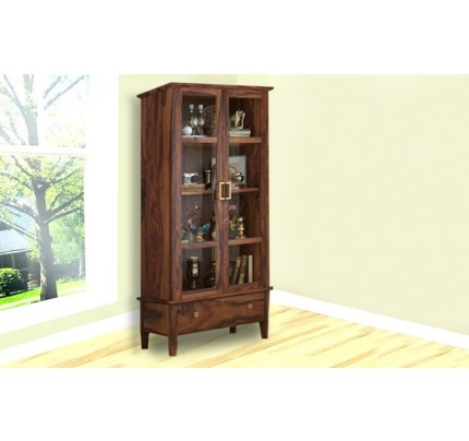 Stonic Sheesham Wood Book Shelve