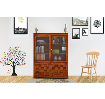 Brukytan Sheesham Wood Book Shelve