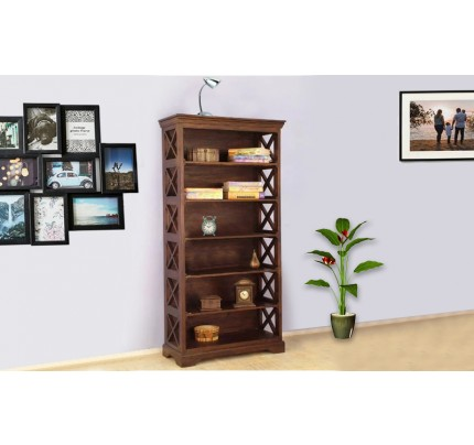 Pascino Sheesham Wood Book Shelve