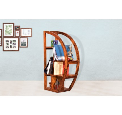 Hammock Sheesham Wood Book Shelve