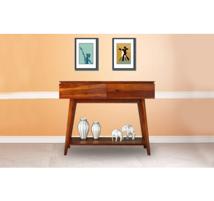 Sprina Solid Wood Console Table