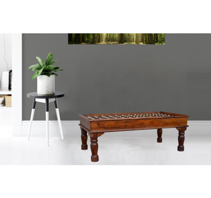 Pataline Sheesham Wood Center Table