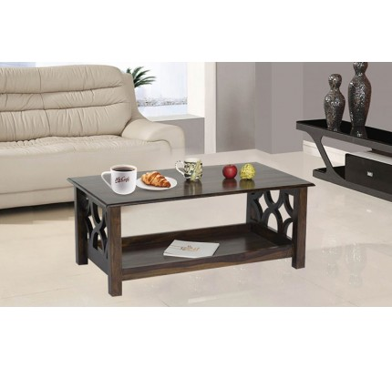 Pelta Sheesham Wood Coffee Table