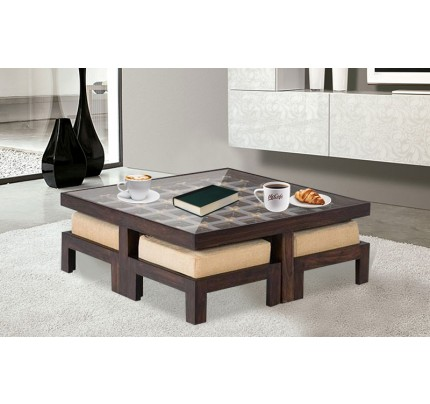 Kosmos Solid Wood Coffee Table