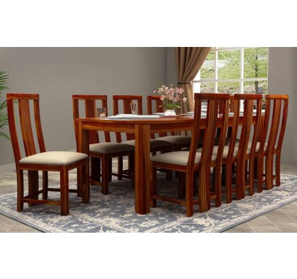 Treaty Solid Wood Dining Set 4 Seater