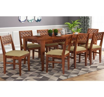 Brissa Sheesham Wood Dining Set 6 Seater