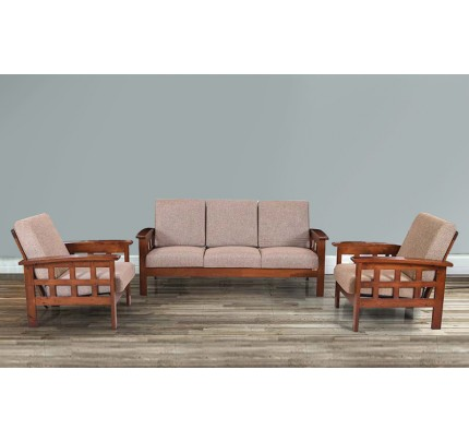 Acapella Sheesham Wood Double Seater Sofa