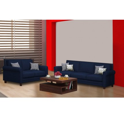 Franny Sheesham Wood Sofa Set