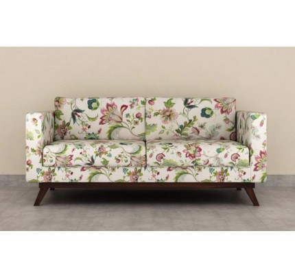 Maggenetta Solid Wood Single Seater Sofa