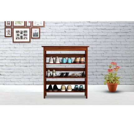 Hemlin Sheesham Wood Shoe Rack