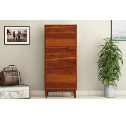 Frinicia Solid Wood Shoe Rack