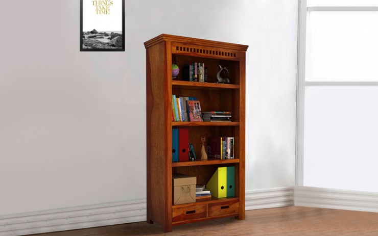 Bermista Sheesham Wood Book Shelve