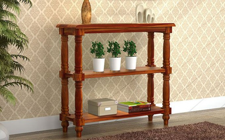 Juloph Solid Wood Console Table