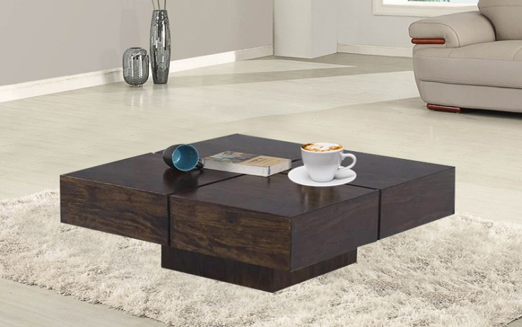 Mincrats Sheesham Wood Coffee Table
