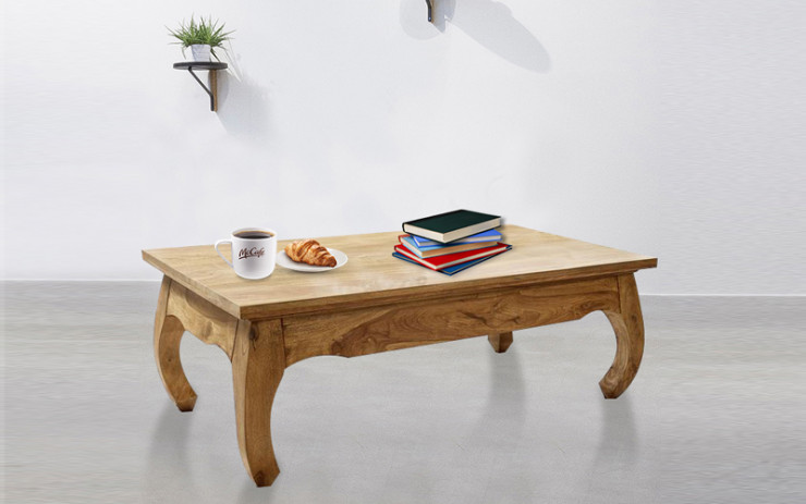 Opium Solid Wood Center Table