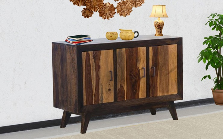 Capacit Sheesham Wood Side Board